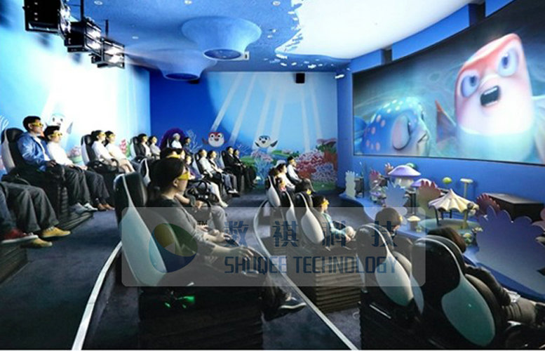 Theme Park Outdoor 4D Movie Theater, Special Design , Artistic Style , Immersive Effects