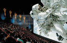 China Fashionable 4d movie theater / cinema 4d motion system with flat / arc / Circular screen distributor