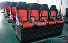 China 4D Motion Seat Equipment With Snow , Rain , lighting , Smoke Simulator System distributor